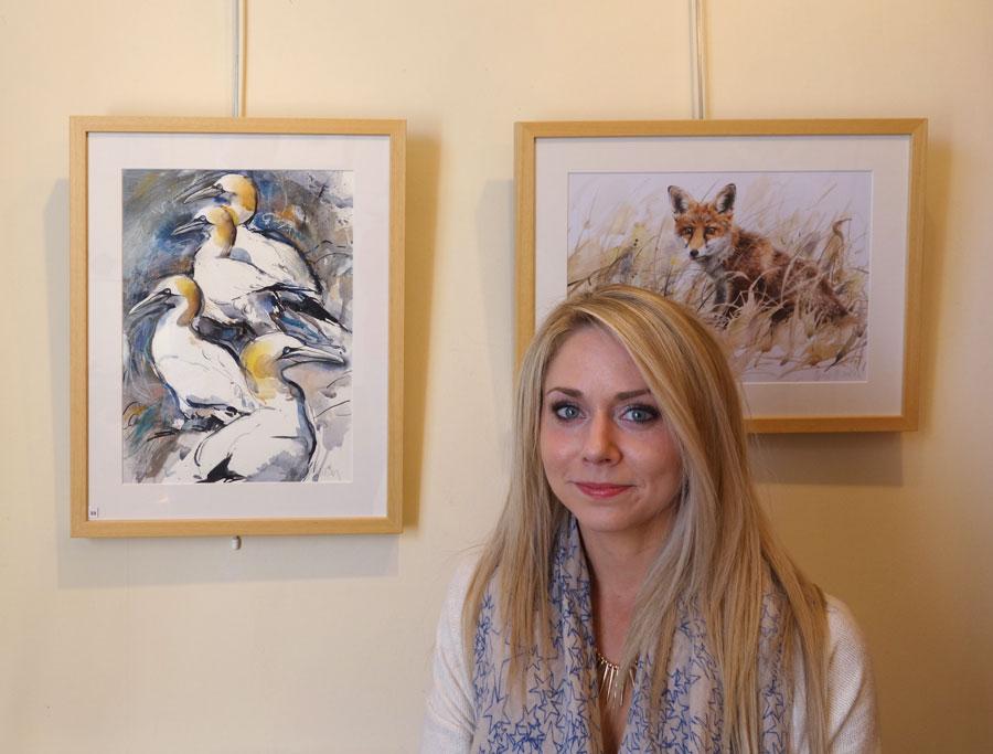 Lucy Newton 2 Tolquhon Gallery